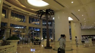 Lobby of Shanghai Luxury Hotel