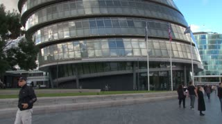 London City Hall Entrance
