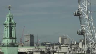 London Eye and Tower