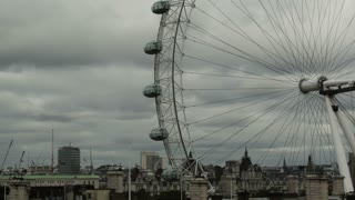London Eye Dreary Day Timelapse