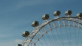 London Eye Tilt Down Left Zoom Out Timelapse