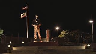 Lone Sailor Memorial in San Francisco