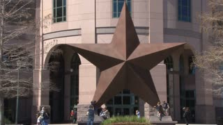 Lone Star Outside of Museum