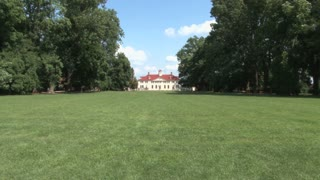 Long, establishing shot, static, of main Mt. Vernon house