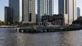 Long Island, City Piers, East River, New York, United States of America