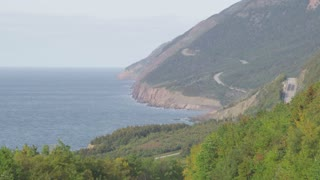Long Shot of Nova Scotia Coastline