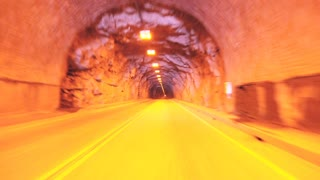 Long Tunnel POV Timelapse