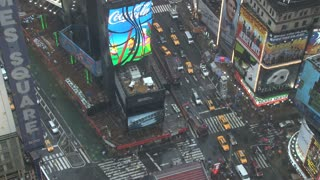 Looking Down at Times Square in New York 2