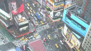 Looking Down at Times Square in New York 7