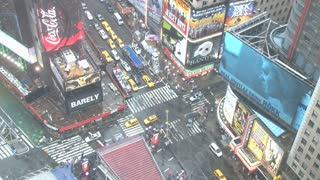 Looking Down at Times Square in New York 9