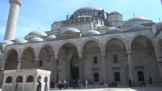 Looking Up at Suleymaniye Mosque 1