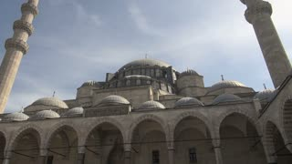 Looking Up at Suleymaniye Mosque 2