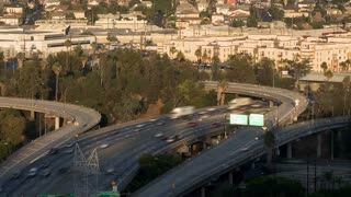 Looping LA Freeway