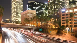 Looping Los Angeles Traffic Time Lapse