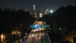 Los Angeles City Evening Traffic