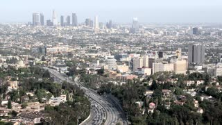 Los Angeles City Landscape Timelapse