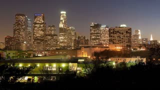 Los Angeles City Night TL