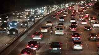 Los Angeles City Night Traffic TL