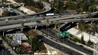 Los Angeles Crossing Overpass