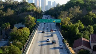 Los Angeles Freeway City View