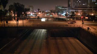 Los Angeles Freeway Night