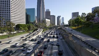 Los Angeles Highway Buildings Timelapse