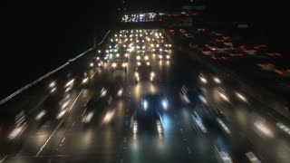 Los Angeles Nighttime Traffic