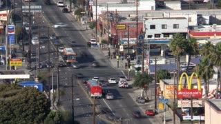 Los Angeles Suburban Street