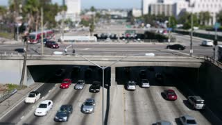 Los Angeles Tilt Shift Overpass
