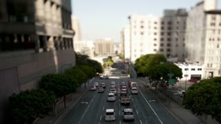 Los Angeles Tilt Shift Traffic