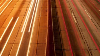 Los Angeles Traffic Light Trails