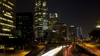 Los Angeles Zoom Out 101 Timelapse