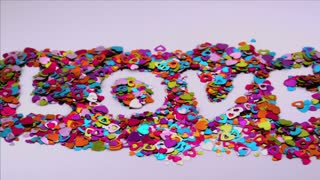 Love Confetti Blows Away 2