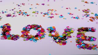 Love Confetti Blows Away 3