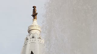 Love Fountain By City Hall Tower