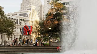 Love Park and Fountain