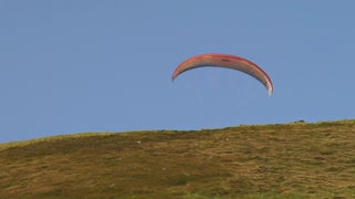 Low Angle Paraglider