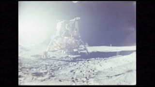 Lunar Module Apollo 14 on Moon