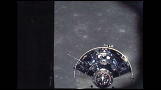 Lunar Module Coming Back to Command Module