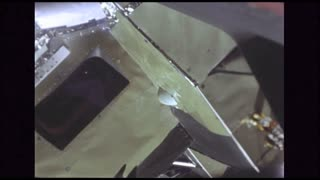 Lunar Module Detaching From Command Capsule