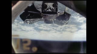 Lunar Module Outside Apollo 9 Spacecraft Window