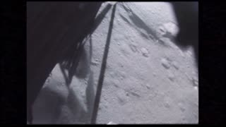 Lunar Module POV on Moon Surface