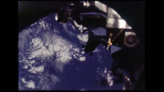 Lunar Module Released From Dock