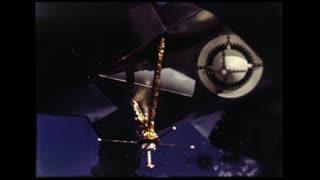 Lunar Module Undocking