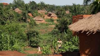 Lush Green African Village