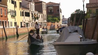 Man On Gondola