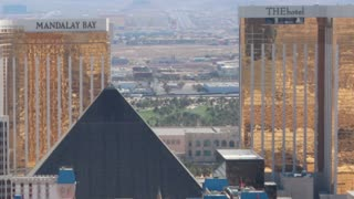 Mandalay Bay Zoom Out Timelapse