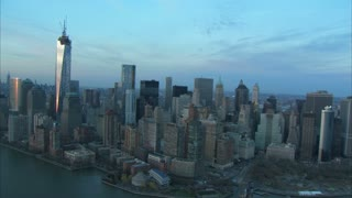 Manhattan And East River Aerial