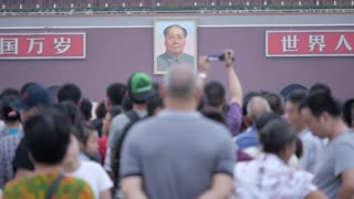 Mao Zedong Portrait at Tiananmen Square