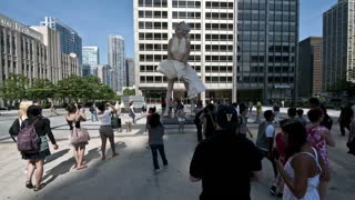 Marilyn Monroe Chicago Timelapse
